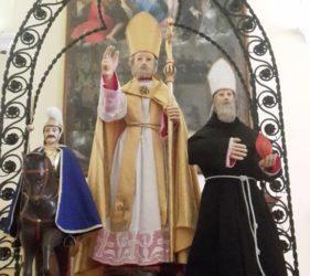 Le statuette dei Santi per i Ceri del Col di Lana